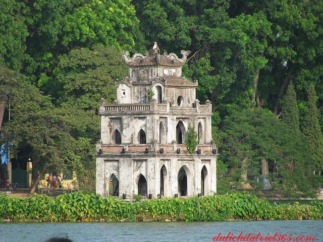 tháp Rùa tại Hồ Gươm