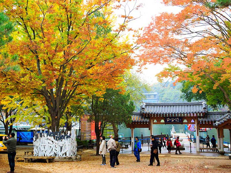 Hàn Quốc Vào Mùa Thu