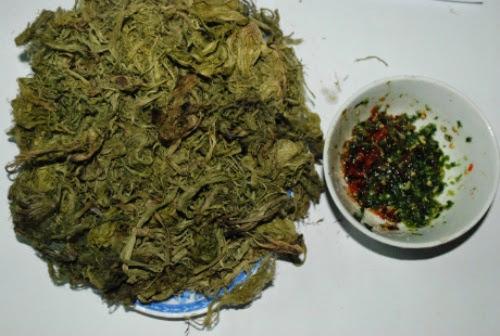 Món rêu Của Người Tày Hà Giang