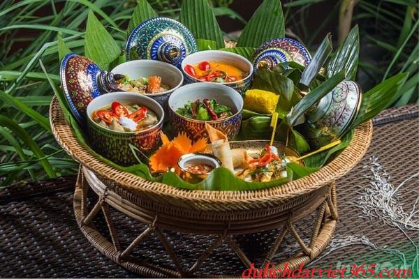 ẩm thực đảo caral thái lan