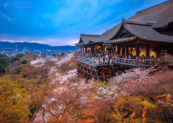 Một Ngôi chùa đẹp tại Nhật Bản