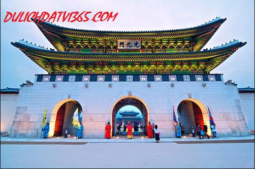 Quảng Hòa Môn  cung điện Gyeongbok