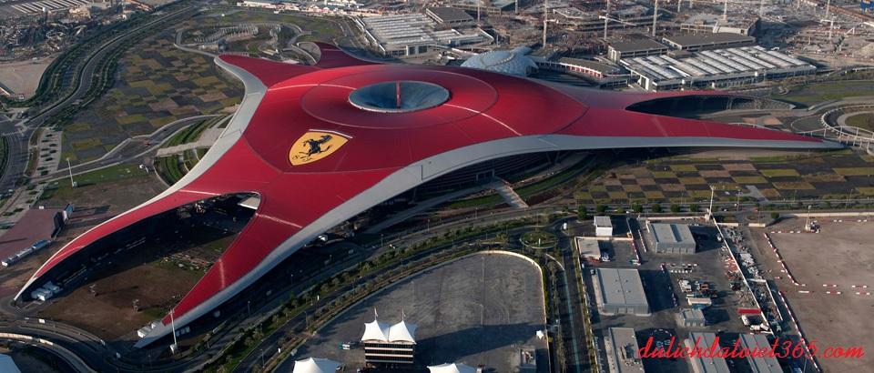 Khu Vườn Ferrari-World