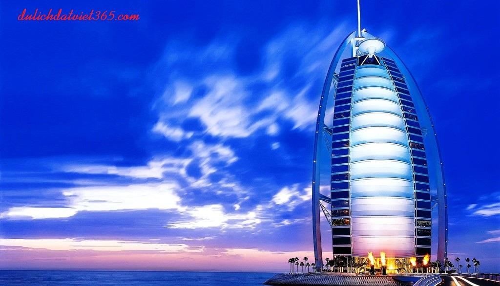 Tháp burj-al-arab cao nhất thế giới
