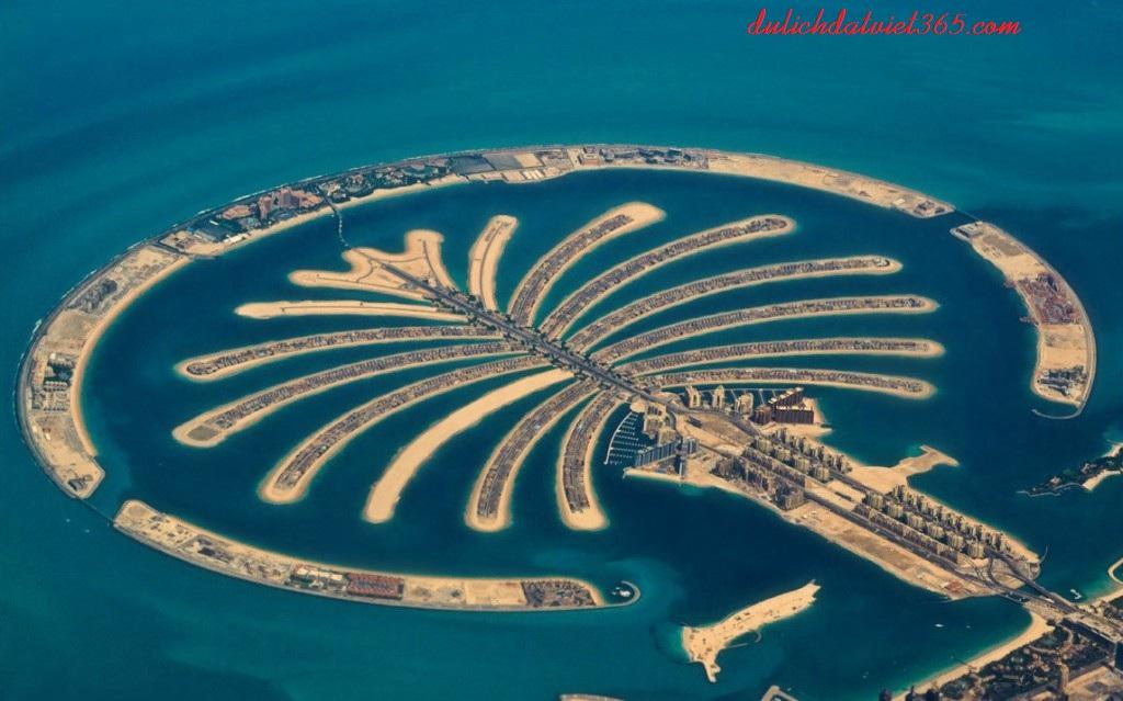 Đảo Nhân Tạo palm-jumeriah lớn nhất thế giới