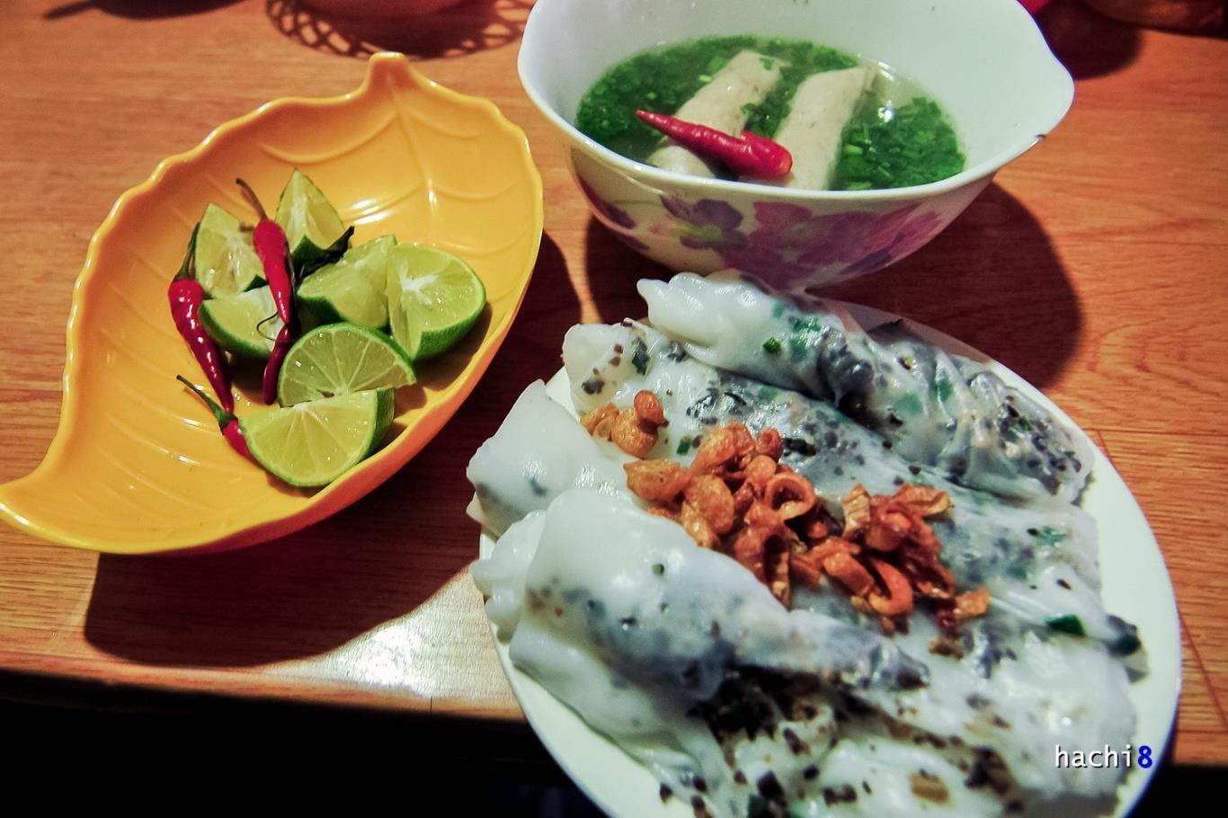 Món Bánh Tráng Hà Giang