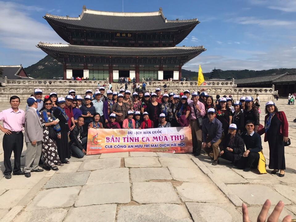 Đoàn du lịch Hàn Quốc