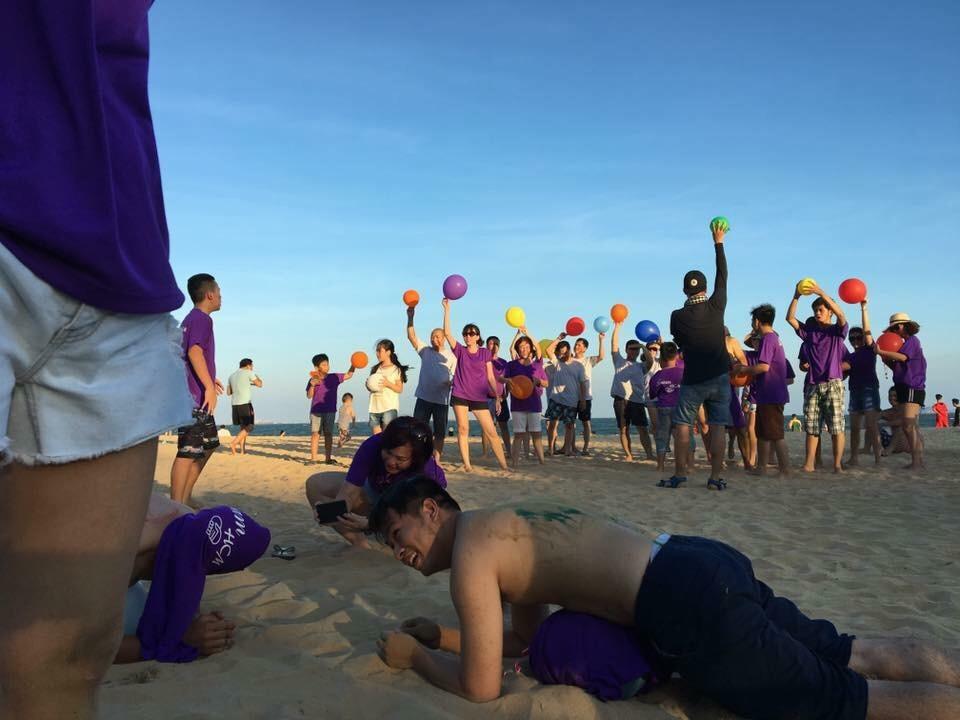Chương Trình Team bãi biển