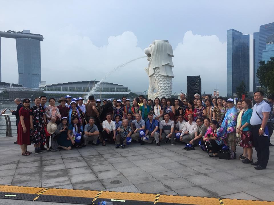 Đoàn 60 Khách Thăm Singgapore