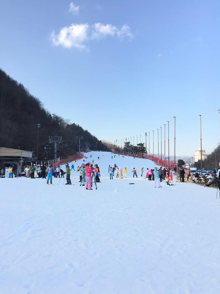 Khu Trượt tuyết tại Hàn Quốc