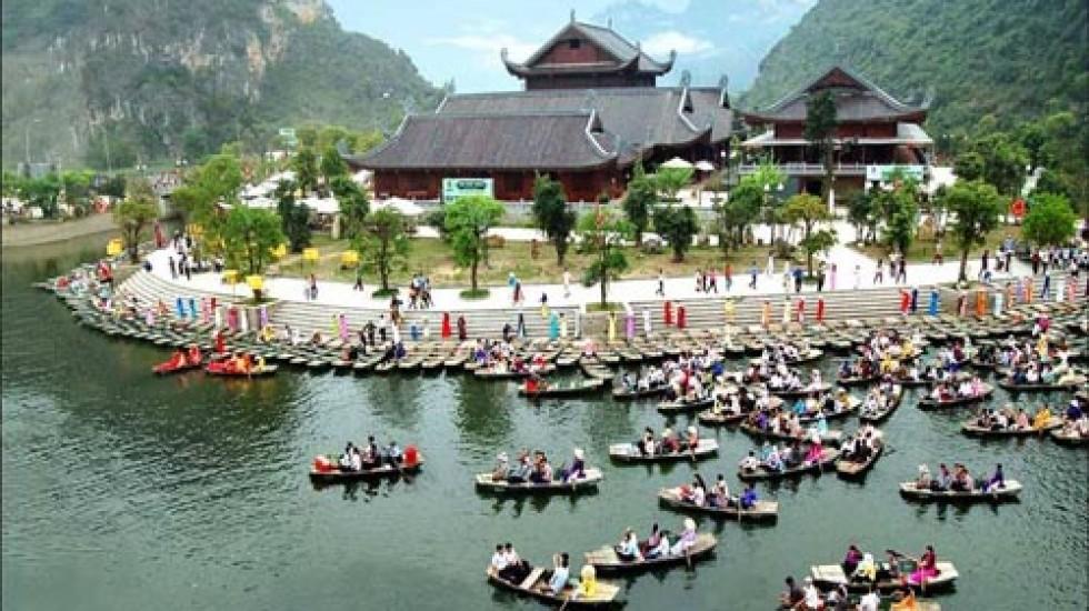 Bến thuyền Tràng An Ninh Bình