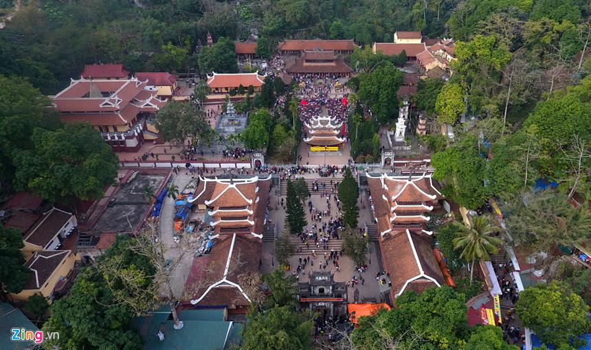 lễ hội chùa hương theo ảnh Zing
