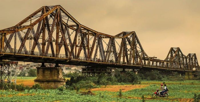 Cầu Long Biên - Một địa điểm của du lịch Hà Nội