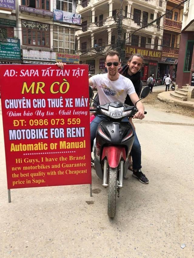 Thuê xe máy sapa du lịch tháng 7