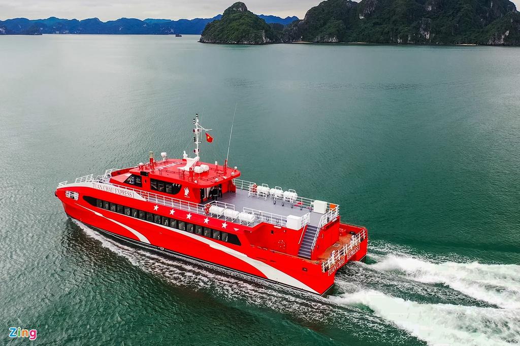 Tàu Cao Tốc Tuần Châu Vân Đồn Cô Tô