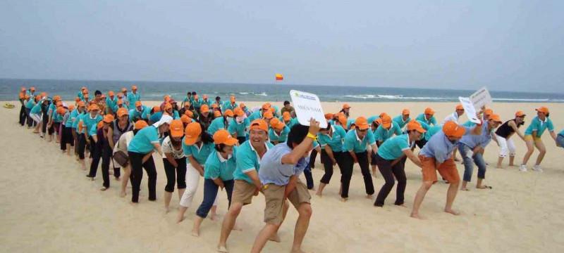 Tour Team Buiding Bãi Biển Hạ Long