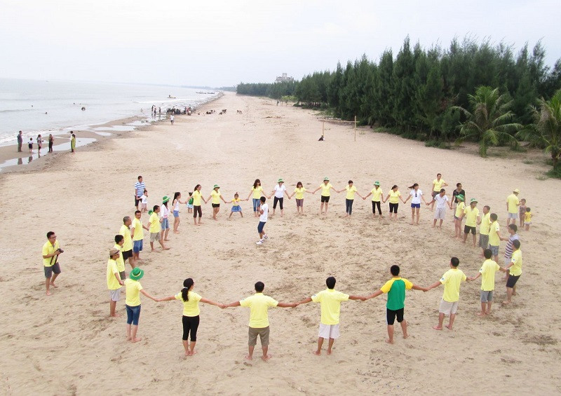 Tour Du Lịch Team Buiding bãi Biển