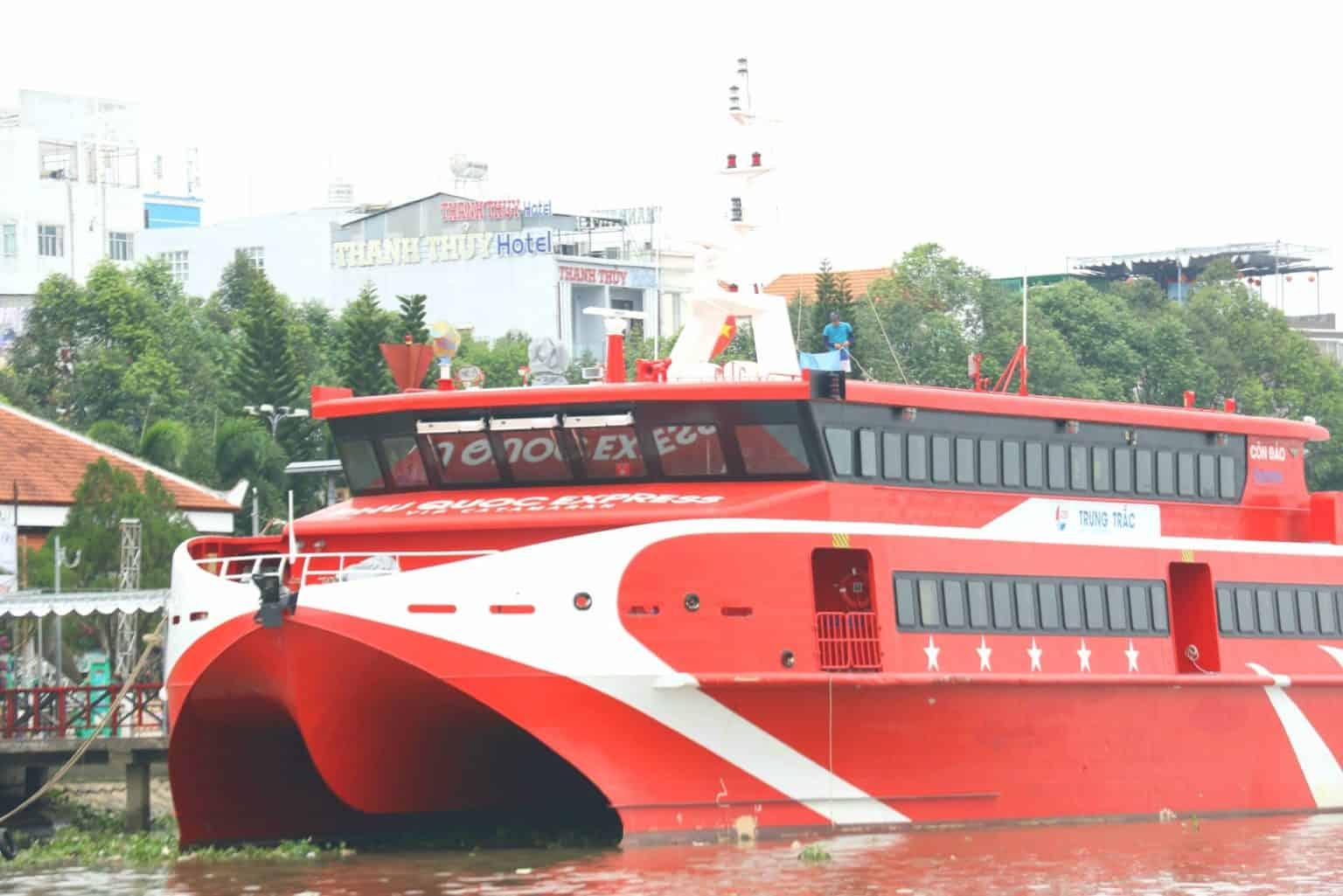 Gía Vé tàu cao tốc Cần Thơ Côn Đảo