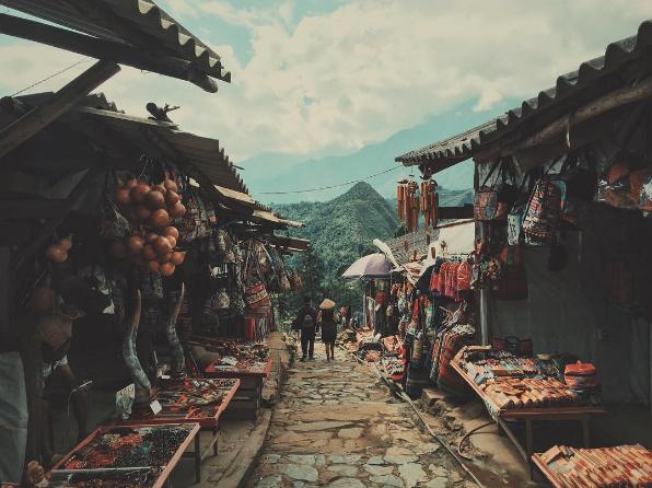 Bản Cát Cát- Ngôi làng cổ trong lòng Sapa xinh đẹp