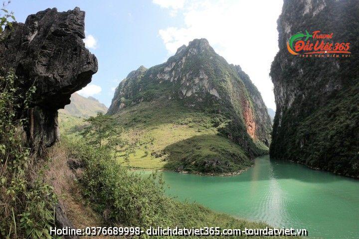 sông nho quế Hà giang