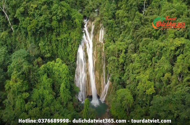 thác khuổi nhi na hang- Tuyên Quang