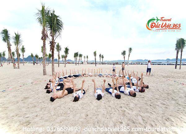 tour du lịch teambuilding bãi biển