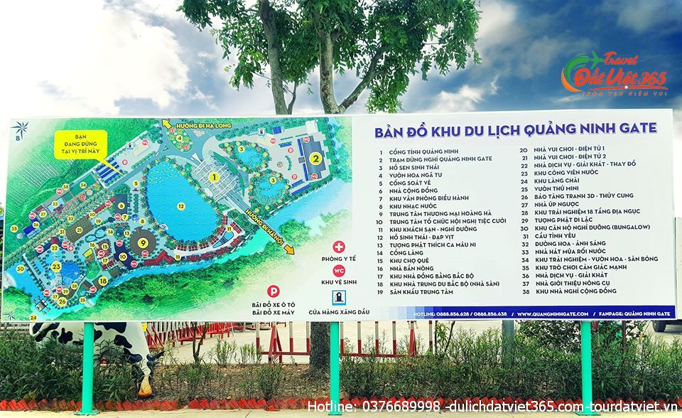 khu du lịch Quảng Ninh gate