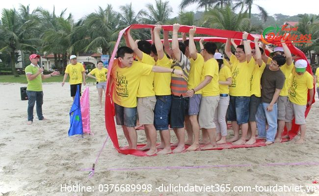 tour teambuilding Cát Bà 3 ngày 2 đêm