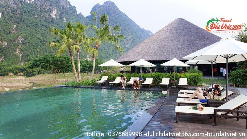 tour serena resort Hòa Bình