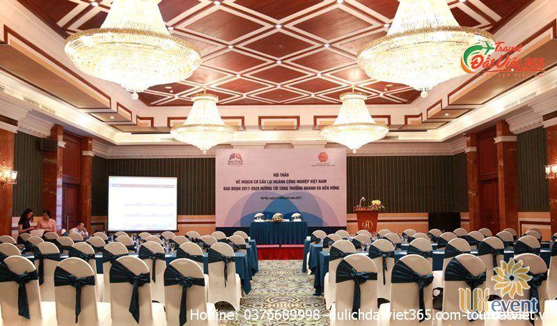 địa điểm tổ chức gala dinner tai Hà Nội