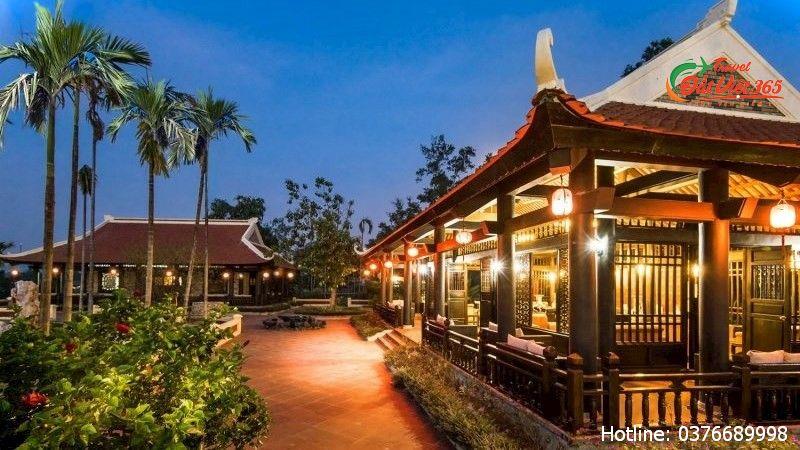 đặt phòng vườn vua resort