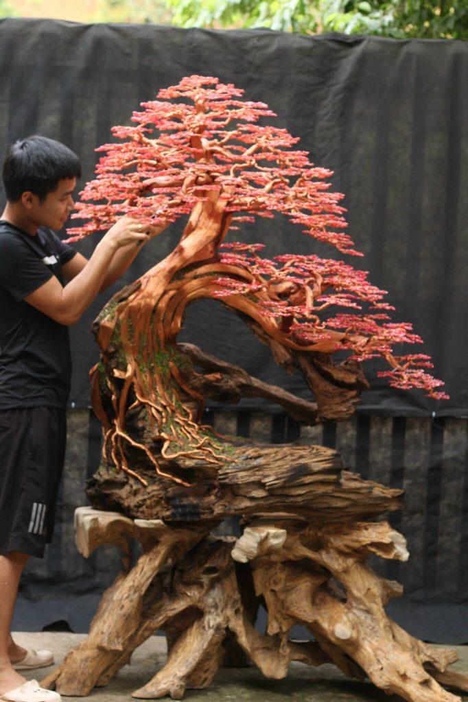 cây bonsai handmade nghệ thuật